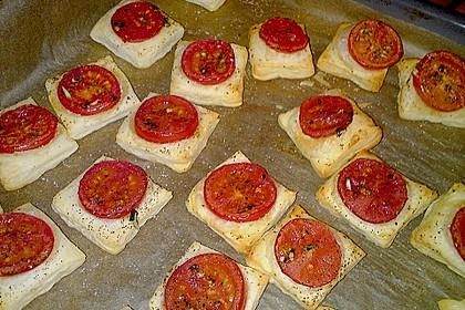 Blätterteig - Tomaten - Quadrate 153