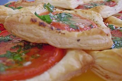 Blätterteig - Tomaten - Quadrate 197