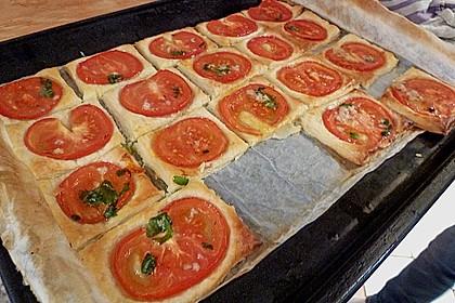Blätterteig - Tomaten - Quadrate 225