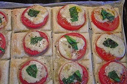 Blätterteig - Tomaten - Quadrate 208