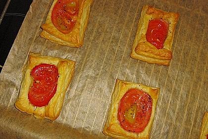 Blätterteig - Tomaten - Quadrate 196