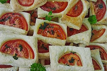 Blätterteig - Tomaten - Quadrate 131