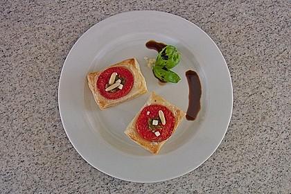 Blätterteig - Tomaten - Quadrate 170