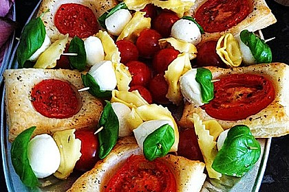 Blätterteig - Tomaten - Quadrate 77