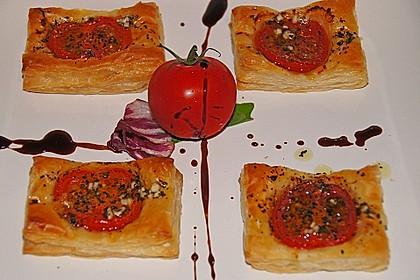 Blätterteig - Tomaten - Quadrate 84