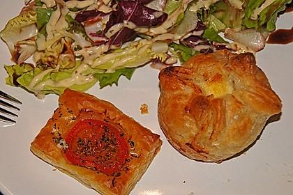 Blätterteig - Tomaten - Quadrate 130