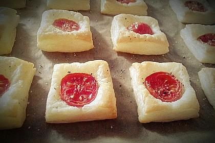 Blätterteig - Tomaten - Quadrate 203