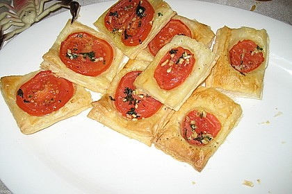 Blätterteig - Tomaten - Quadrate 189