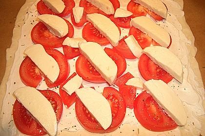 Blätterteig - Tomaten - Quadrate 233