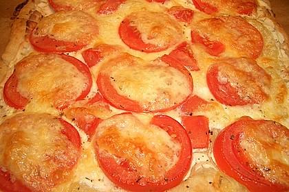 Blätterteig - Tomaten - Quadrate 228