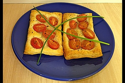 Blätterteig - Tomaten - Quadrate 167