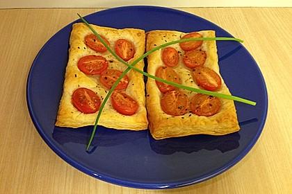 Blätterteig - Tomaten - Quadrate 210