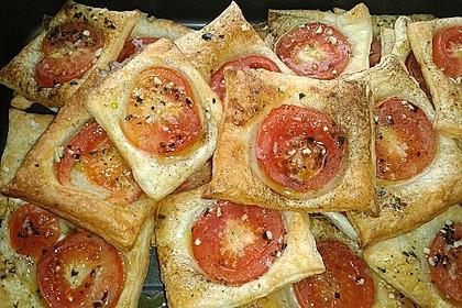 Blätterteig - Tomaten - Quadrate 151