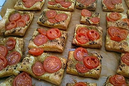 Blätterteig - Tomaten - Quadrate 249