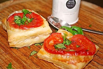 Blätterteig - Tomaten - Quadrate 39