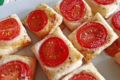 Blätterteig - Tomaten - Quadrate 218