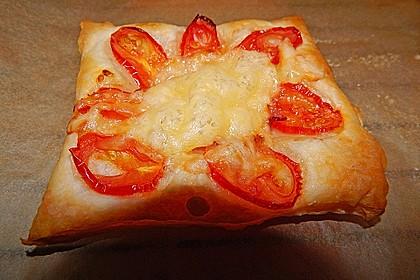Blätterteig - Tomaten - Quadrate 204