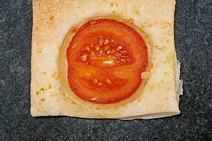 Blätterteig - Tomaten - Quadrate 221