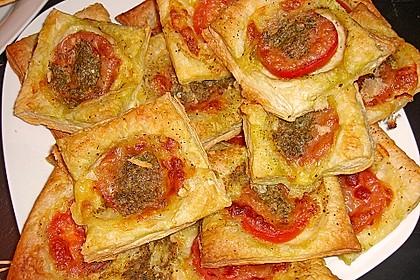 Blätterteig - Tomaten - Quadrate 162