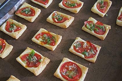 Blätterteig - Tomaten - Quadrate 88