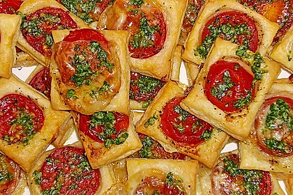 Blätterteig - Tomaten - Quadrate 97