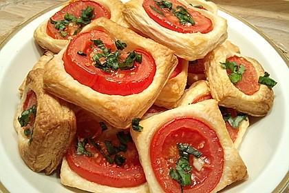 Blätterteig - Tomaten - Quadrate 5
