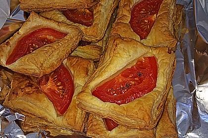 Blätterteig - Tomaten - Quadrate 182