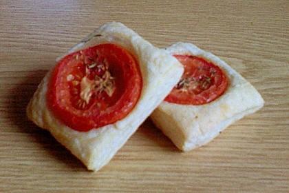 Blätterteig - Tomaten - Quadrate 243