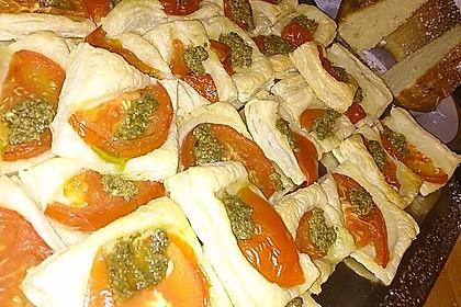 Blätterteig - Tomaten - Quadrate 205