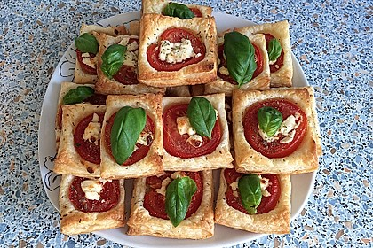 Blätterteig - Tomaten - Quadrate 8
