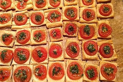 Blätterteig - Tomaten - Quadrate 41
