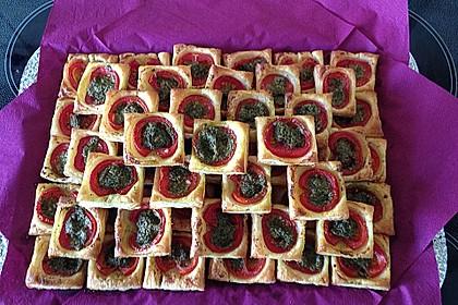 Blätterteig - Tomaten - Quadrate 51