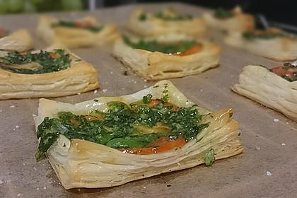 Blätterteig - Tomaten - Quadrate 187