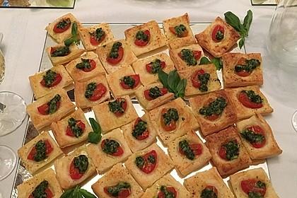 Blätterteig - Tomaten - Quadrate 69