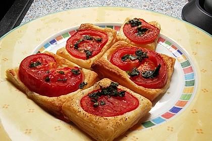 Blätterteig - Tomaten - Quadrate 146