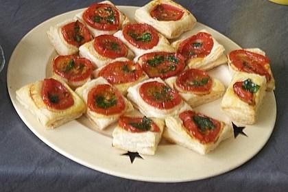 Blätterteig - Tomaten - Quadrate 193