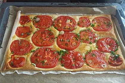 Blätterteig - Tomaten - Quadrate 166