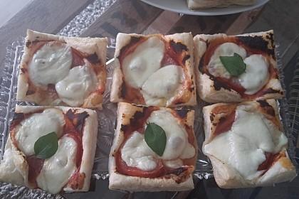 Blätterteig - Tomaten - Quadrate 190