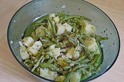 Grüne Bohnen - Kartoffel - Salat 16