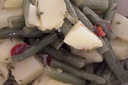 Grüne Bohnen - Kartoffel - Salat 18
