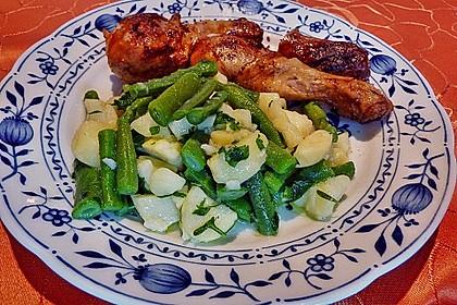 Grüne Bohnen - Kartoffel - Salat 2