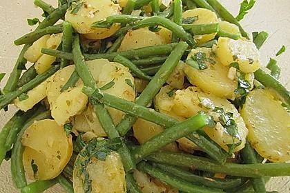 Grüne Bohnen - Kartoffel - Salat 10