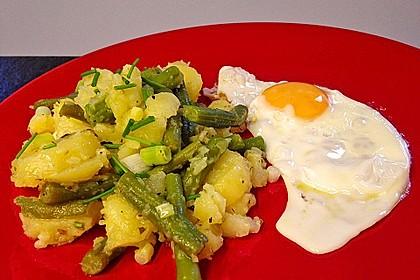 Grüne Bohnen - Kartoffel - Salat 8