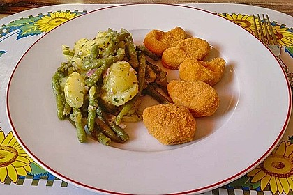 Grüne Bohnen - Kartoffel - Salat
