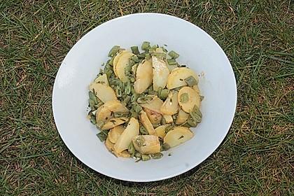 Grüne Bohnen - Kartoffel - Salat 13
