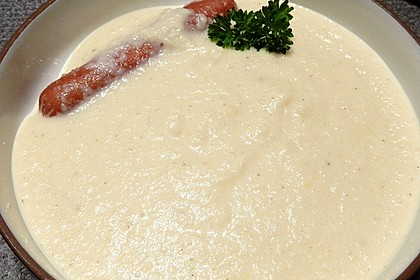 Blumenkohl - Cremesuppe 7