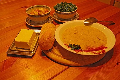Blumenkohl - Cremesuppe 4