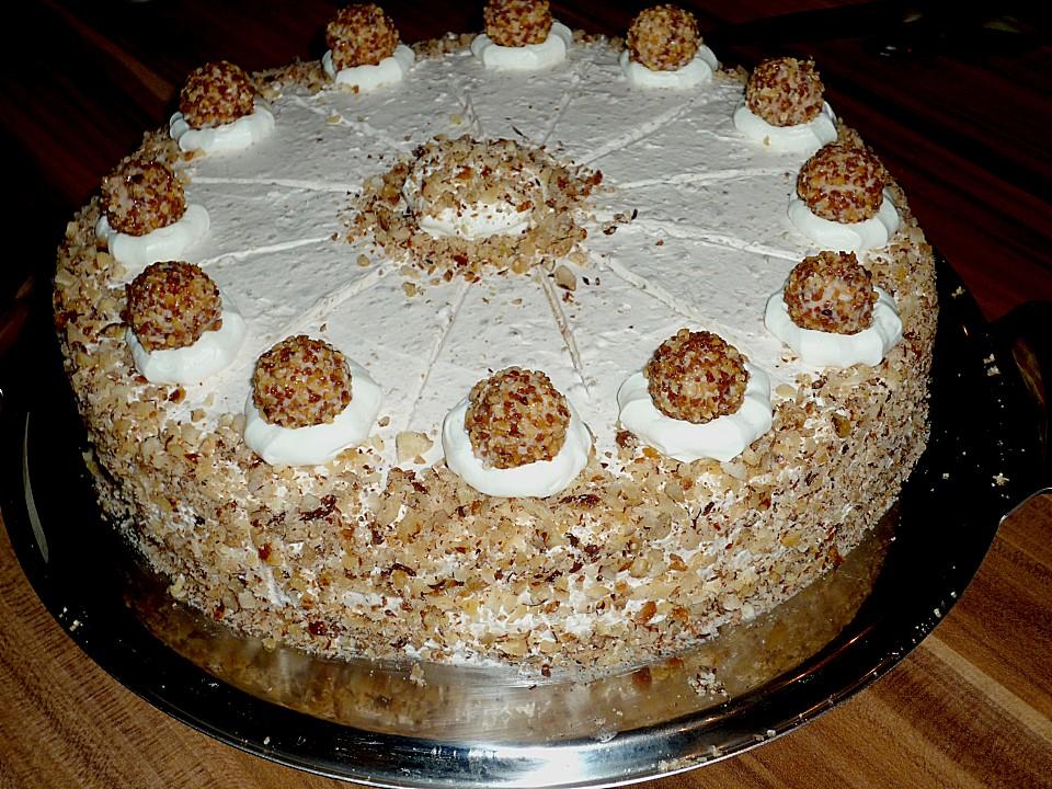 Nuss sahne torte rezept mit bild