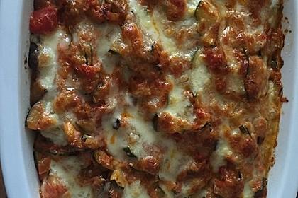 Vegetarischer Pasta - Gratin 1