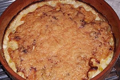 Sahniges Kartoffel - Fleischwurst - Gratin 15
